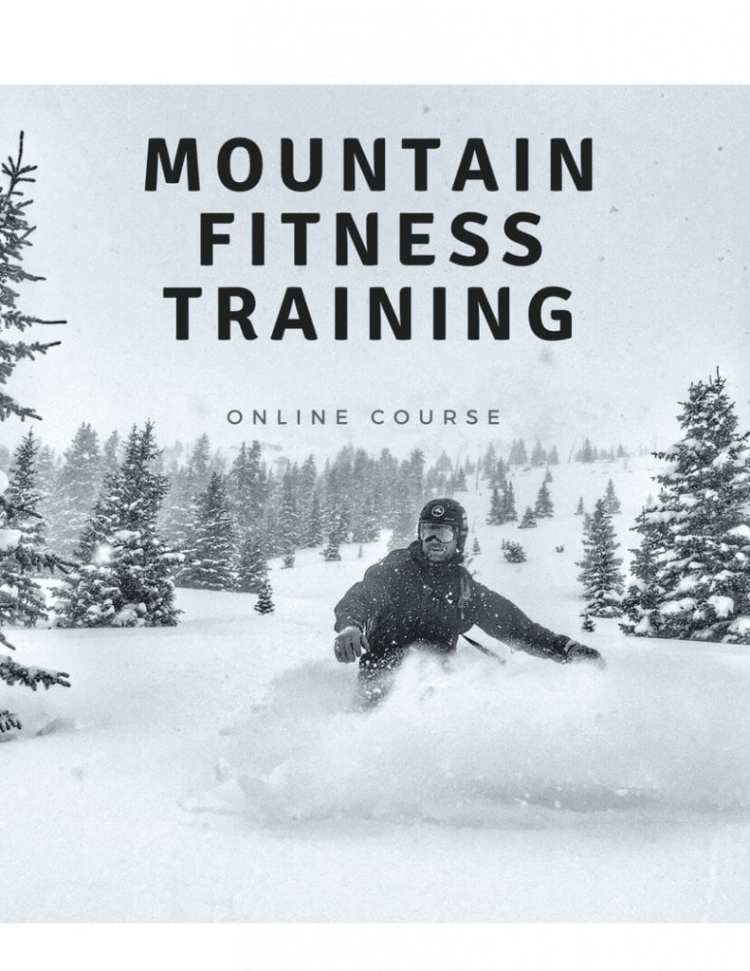 Mountain Fitness Training snowboard