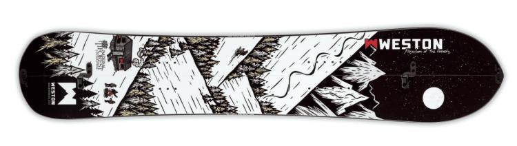 Weston Backcountry Backwoods Splitboard benefiting National Forest
