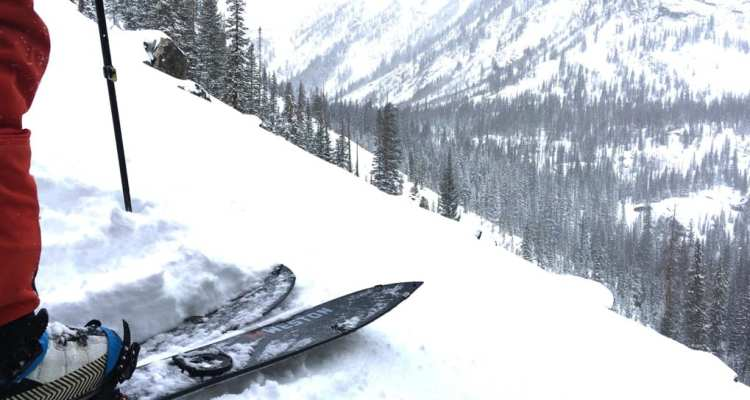 Weston Carbon Backwoods Splitboard