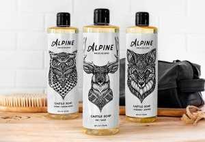 Alpine Provision's Pure Castile Soap (MSRP $12)