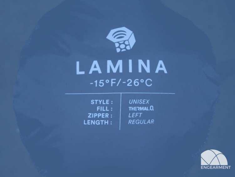 Mountain Hardwear Lamina -15ºF Sleeping Bag; Low Temps, High Comfort 2