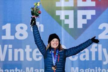 Breckenridge Deaflympian Seeks to Defend Her Medals in Italy 10