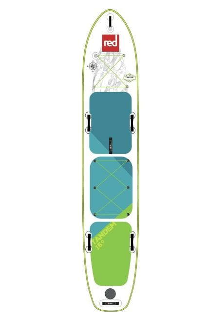 Red Paddle Co. Voyager Tandem Stand-Up Paddleboard