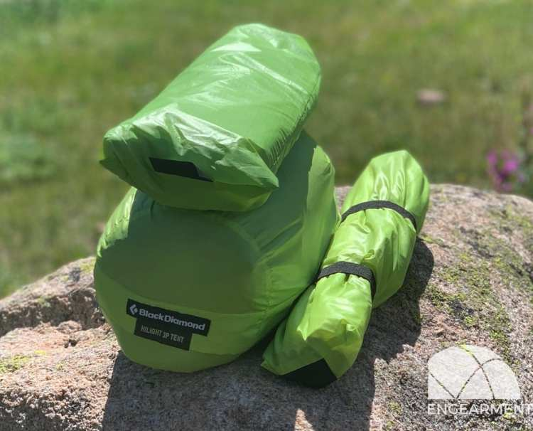 New Black Diamond Hilight Tent Review Engearment.com packed up with optional vestibule