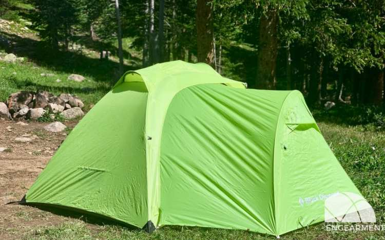 New Black Diamond Hilight Tent Review Engearment.com optional vestibule installed