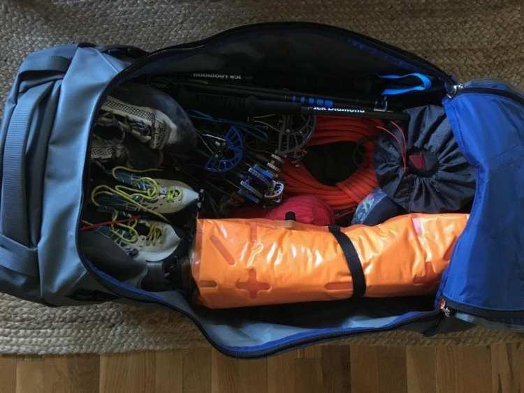 Osprey Transporter 130 duffel bag Engearment