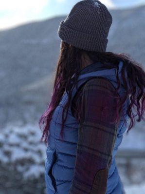 Patagonia High Loft Down Hooded Vest (MSRP $199)
