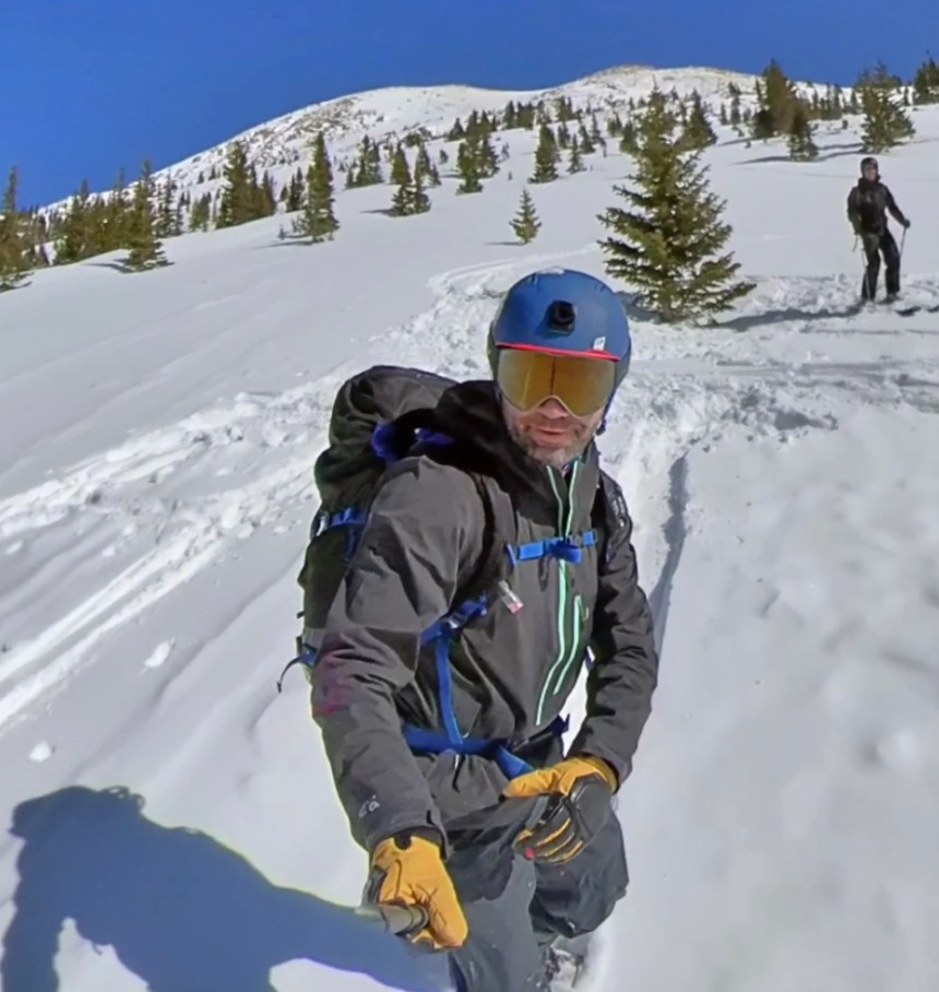 Mountain Hardwear Men's Exposure 2 Gore-Tex Paclite Stretch Pullover review splitboarding