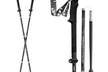 The Last Trekking Pole You'll Ever Need: LEKI Micro Vario Carbon Black Series 2
