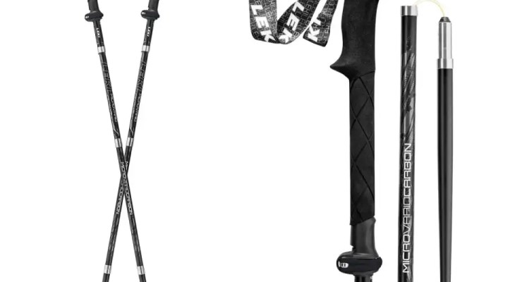 The Last Trekking Pole You'll Ever Need: LEKI Micro Vario Carbon Black Series 1