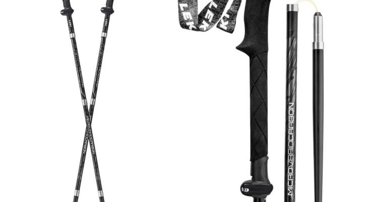 The Last Trekking Pole You'll Ever Need: LEKI Micro Vario Carbon Black Series 1
