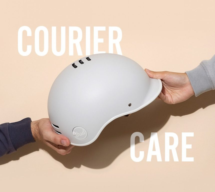 Thousand Free Courier Helmet Program