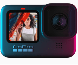 GoPro Hero9 front display