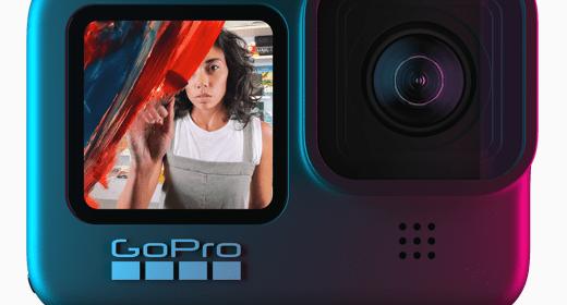 GoPro Hero9 front display