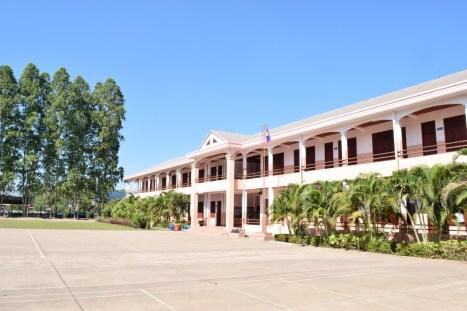 Blick auf das Hauptgebäude