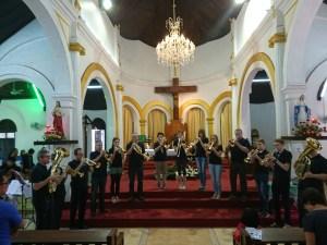 In der katholischen Kirche Sacre Ceur in Vientiane