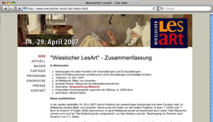 Lesart, Wiesloch, webdesign, ©engelmann-grafikdesign.de
