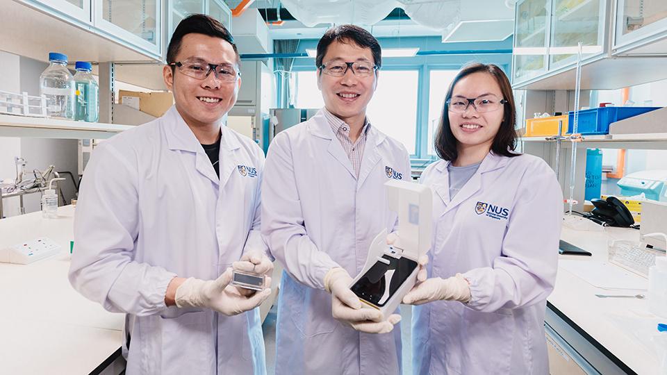 dispositivo de detecção de algas é desenvolvido por engenheiros em universidade de singapura