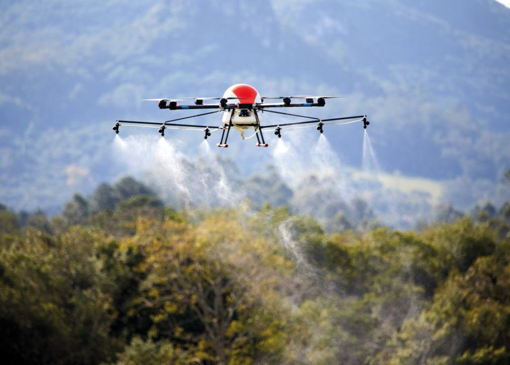 pulverização por drones engenharia 360
