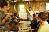 O facilitador Pedro Xavier da Silva, do Projeto Slow Food-UFSC-MDA apresenta as sugestões doeixo temático de Turismo.