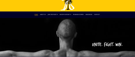 Sarcoma Warriors | Nonprofits Web Design Greenville SC