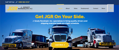 J. Grady Randolph, Inc. | Financial & B2B Services Web Design Greenville SC