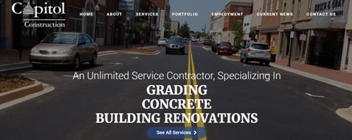 Capitol Construction of the Carolinas | Construction & Residential Web Design Greenville SC