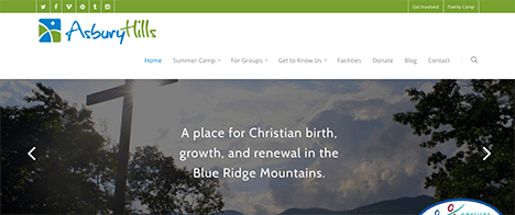 Asbury Hills | Nonprofits Web Design Greenville SC