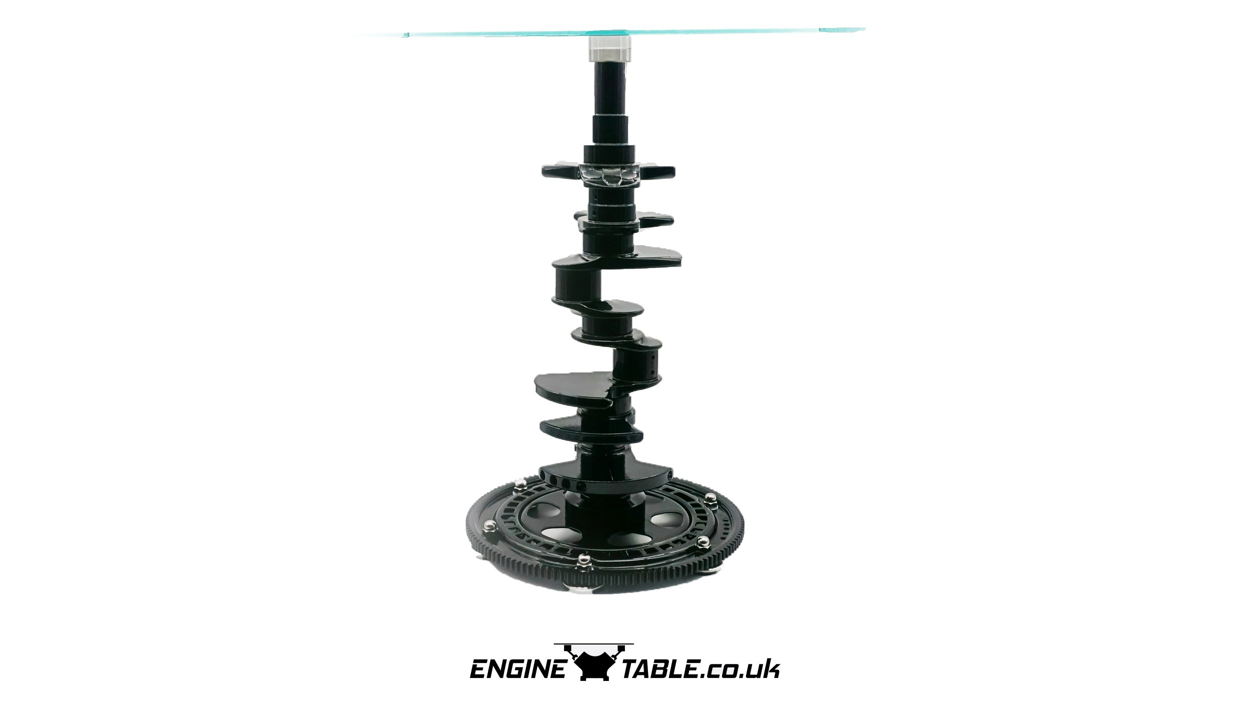 Crankshaft Side Table By Engine Table Uk