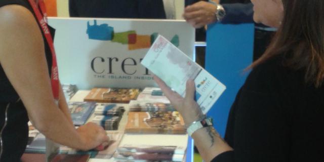Interested in Crete tourist IFTM exhibition Top Resa in Paris