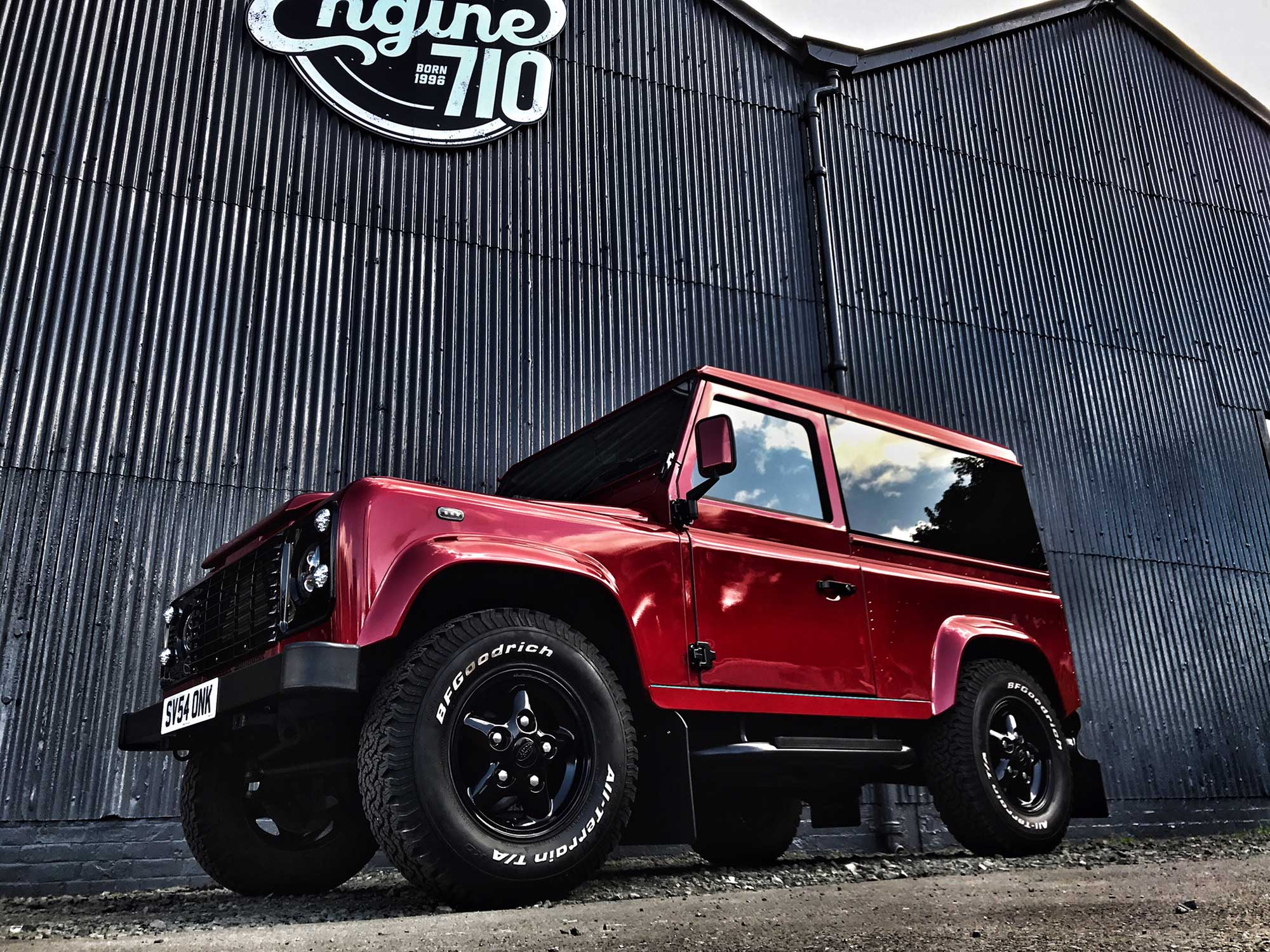 Modified Defender by Engine 710