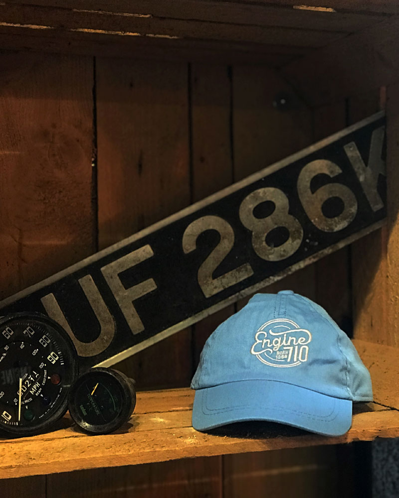 Engine 710 Baby Blue Cap