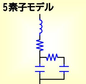 コンデンサ_5素子モデル