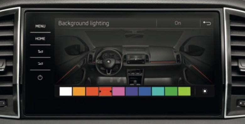Skoda Karoq - Ambient Light. Se non visualizzi correttamente l'immagine prova a ricaricare la pagina