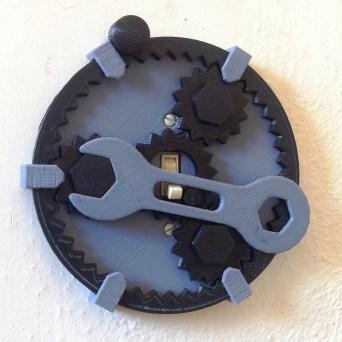 geared light switch