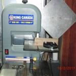 For bore through shaft tip preparation