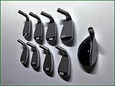 Pinhawk RH single length irons