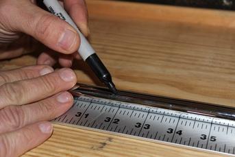 measuring for shaft length butt trim