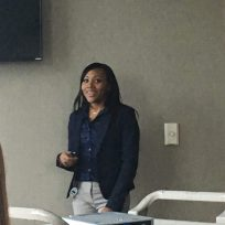 Markala Goodson, AIN Plastics Associate presented tkactive at World Health and Safety Day