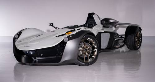 BRIGGS AUTOMOTIVE COMPANY CUTS DESIGN-TO-MANUFACTURE TIME OF AIR INTAKE FOR NEW BAC MONO R SUPERCAR USING STRATASYS FDM 3D PRINTING