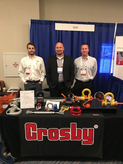 Crosby / SP's Orsak Presents at Offshore Safe Lifting Conference