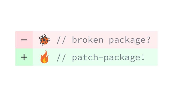 React Nativeのライブラリをpatch-packageで手軽に修正する方法