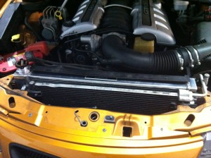 Mishimoto radiator installed in 2006 GTO