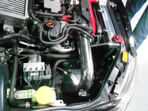 Mishimoto intake fully installed