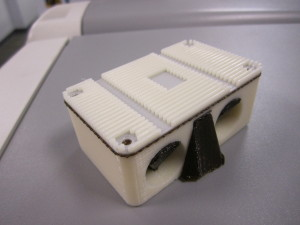 Mishimoto in-line oil thermostat plastic prototype