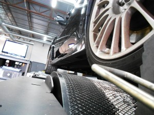 Mishimoto 2010 STI on dyno