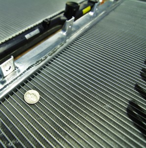 Mishimoto prototype 2 radiator core evaluation