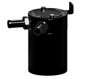 Initial 3D rendering of Mishimoto Compact Baffled Oil Catch Can