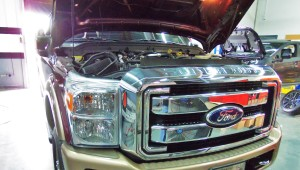 6.7L Powerstroke test vehicle
