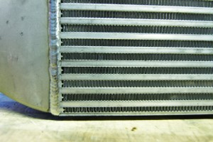Mishimoto prototype intercooler external fins